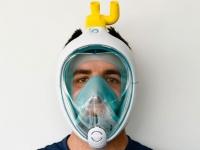 シュノーケルマスクを3Dプリンター製バルブで人工呼吸器に接続しCPAPマスクに変換する技術開発に成功(イタリア)