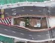 高架道路の真ん中に家!立ち退きを拒否した民家の周囲に道路を建設(中国)