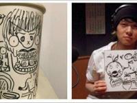 ユチョンがラジオ番組で描いた絵