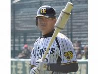 阪神タイガースの福留孝介選手(「Wikipedia」より)