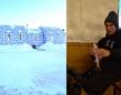 暖かい室内でビールを飲みながら氷上釣りが楽しめるイグルー風のバーが登場(アメリカ)