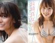 脊山麻理子の写真集(左)と長崎真友子のカレンダー(右)