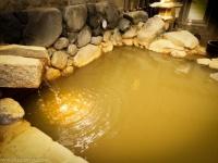「武蔵小山温泉 清水湯」の黄金の湯