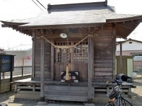 浪分神社拝殿(仙台市若林区) 画像は「Wikipedia」より引用