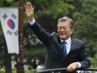 韓国の文在寅大統領(写真:YONHAP NEWS/アフロ)
