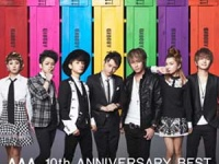 『AAA 10th ANNIVERSARY BEST(ALBUM3枚組+DVD)』(avex trax)