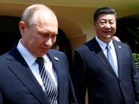 プーチン大統領と習近平国家主席(ロイター/アフロ)