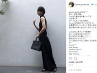 剛力彩芽(@ayame_goriki_official)インスタグラムより