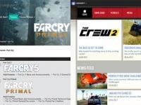 (左)『Far Cry 5』、(右)『The Crew 2』、各公式サイトより。