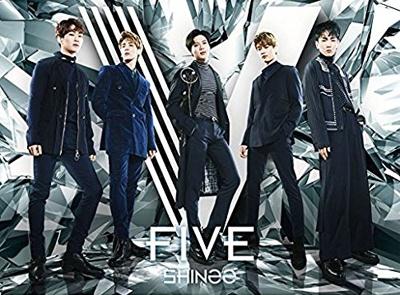 「FIVE(初回限定盤A)(Blu-ray付)」(Universal Music)