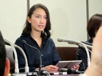 会見に臨んだ詩織さん/写真:日刊スポーツ/アフロ