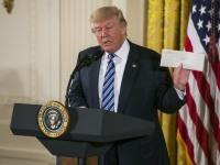 アメリカのドナルド・トランプ大統領(写真:The New York Times/アフロ)
