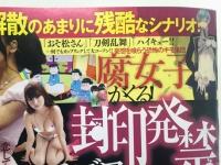 「封印発禁TV 素手喧嘩SP」(ミリオン出版)。