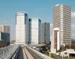 「ゆりかもめ」から見た豊洲駅周辺の様子(「Wikipedia」より)