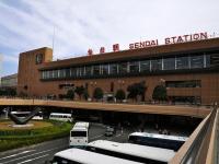 仙台駅(Noriko YAMAMOTOさん撮影、Flickerより)