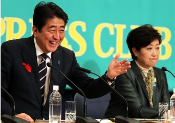 2017年衆議院選挙 日本記者クラブ主催の党首討論会(つのだよしお/アフロ)