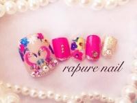 可愛いピンクにうっとり♡フラミンゴネイルのデザインをご紹介!