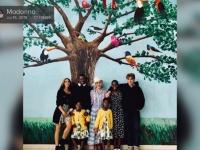 マドンナ、6人の子供たちとマラウイに設立した小児病院を訪問!