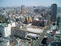 渋谷駅周辺の全景(「Wikipedia」より)