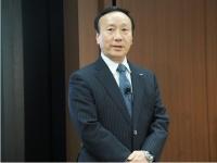 2四半期連続での増収増益を発表したNTTドコモの加藤薫社長