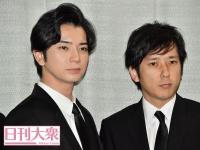 松本潤(左)、二宮和也