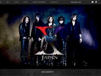 X JAPANオフィシャルサイトより