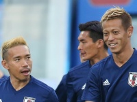 2018 FIFA W杯 日本代表 公式練習(写真:JFA/アフロ)