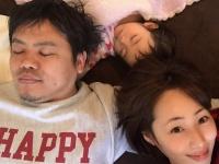 """幸せそうな""""寝正月""""ですね♪ 井上和香Instagramより"""