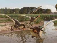 新たに特定された7000万年前の羽毛の肉食恐竜、チーター並みのダッシュ力