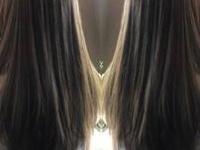 【透けて・とろける】ツヤ感秋カラー☆夏越しダメージヘアでもハイ透明感♪♪