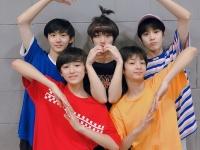 中国版のTwitterであるWeiboより、台風少年団のメンバーたち