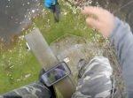 【高所注意】80メートルもの高さから1本のワイヤーを伝って降下!