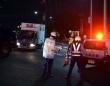 大阪北部地震の被災地の様子(写真:新華社/アフロ)