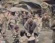 100年前の東京の人々の暮らしがカラー映像で鮮明によみがえる(大正時代)