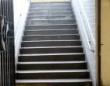 小さいようで大きい差。1cm高さが違うだけで足を取られてしまう階段。