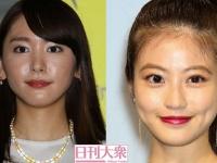 (左より)新垣結衣、今田美桜