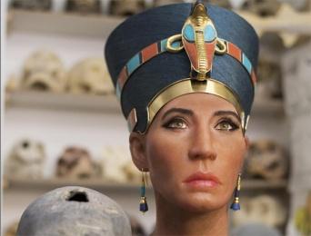 これが絶世の美女と噂された古代エジプト王妃「ネフェルティティ」のご尊顔か?3Dスキャンで再現された3400年前のミイラの姿