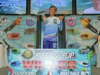 ボートレース鳴門SGオーシャンカップを制した峰竜太