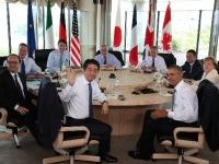 伊勢志摩サミット、2日目は気候変動など討議(写真:代表撮影/ZUMA Press/アフロ)