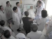 がんで治療の劉暁波氏(Chinese hospital/Newscom/アフロ)