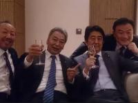 安倍昭恵夫人Facebook「男たちの悪巧み」より
