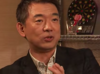 『NewsBAR橋下』で安田氏批判をする橋下氏