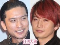 (左から)長瀬智也(TOKIO)、大倉忠義(関ジャニ∞)