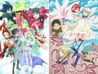 左『ラクエンロジック』、右『赤髪の白雪姫』 各TVアニメ公式サイトより。