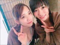 ※イメージ画像:「今野杏南Twitter(@konno_anna)」より。左:都丸紗也華/右:今野杏南