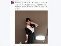 『上坂すみれ』の公式Twitter(@Uesakasumire)より。