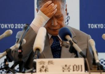 東京五輪・パラリンピック大会組織委員会の森喜朗会長(写真:ロイター/アフロ)