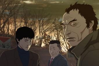 宗教に頼らずには生きていけない人間の弱さをリアルに描いた長編アニメ『我は神なり』。ヤン・イクチュンらが声優として参加。