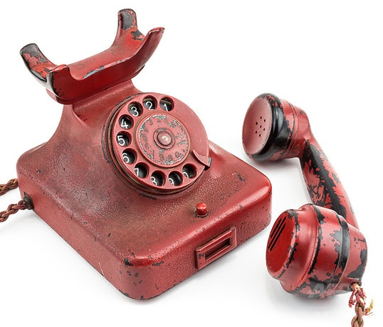 ヒトラー愛用の電話