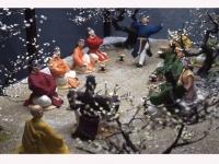 「梅花の宴」を人形で再現(大宰府展示館サイトより)